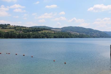 Lac Bleu, Paladru